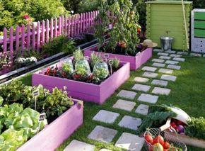gartendekoration selber machen Pflanzenkasten aus Holz | Garten ...
