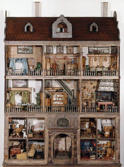 Germanisches Nationalmuseum Puppenhaus Spielhaus Puppenhaus Spielzeug