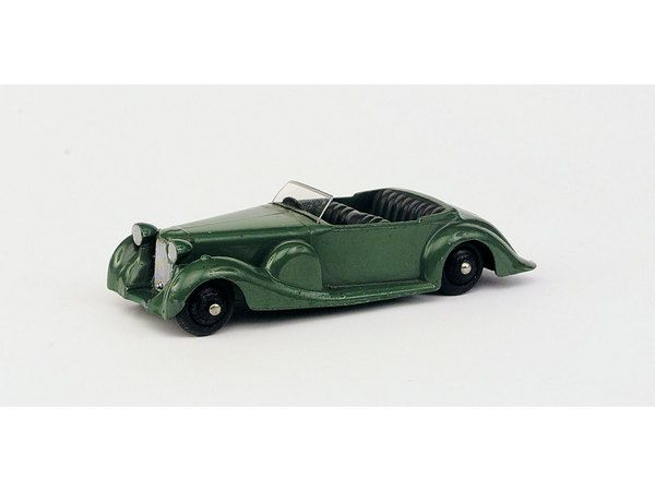 Dinky Toys No. 38c Lagonda, green, dark green interior, - Miller's Antiques & Collectables Price Guide