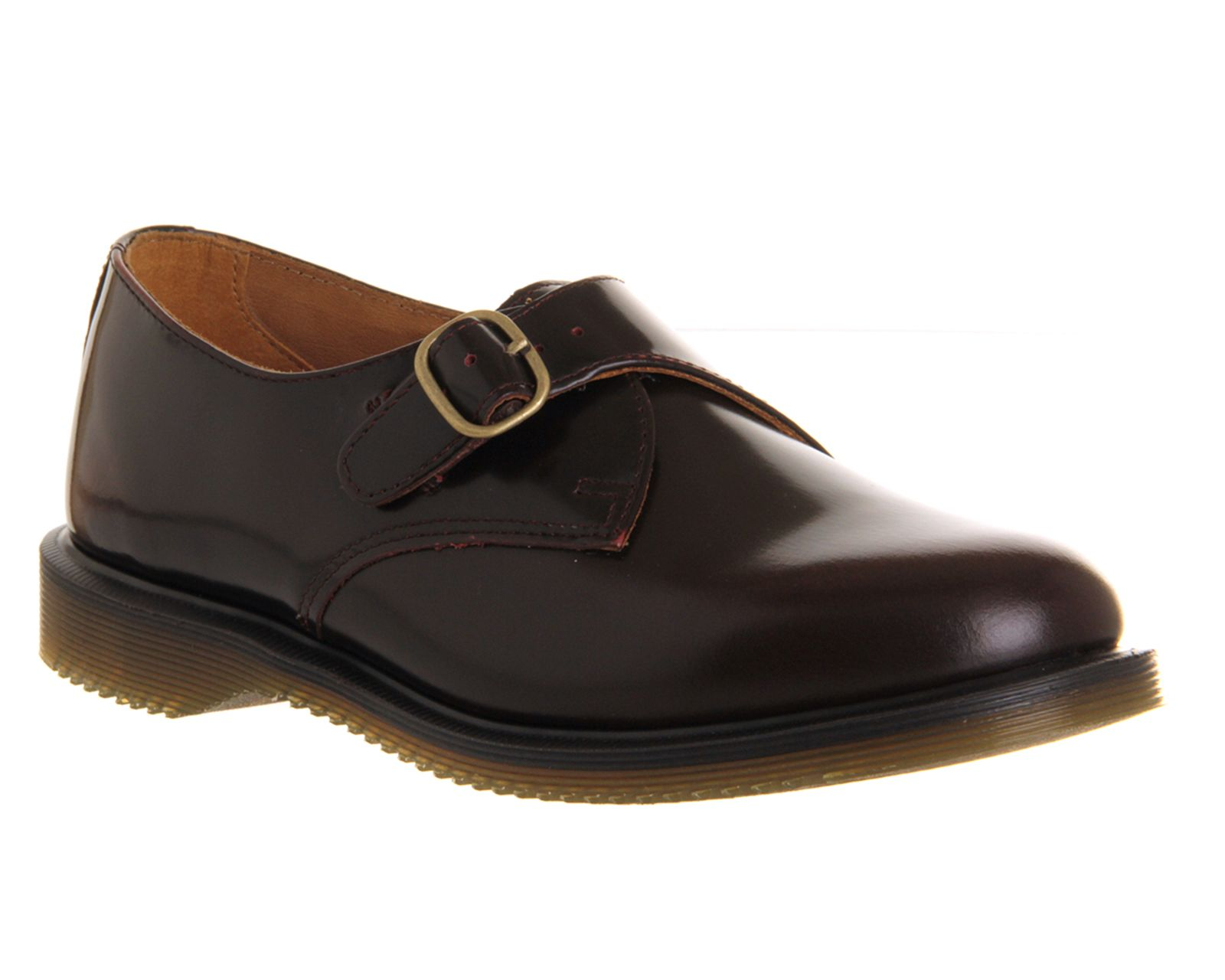 Dr. Martens Kensington Lorne Monk Shoe Cherry Red Arcadia - Flats