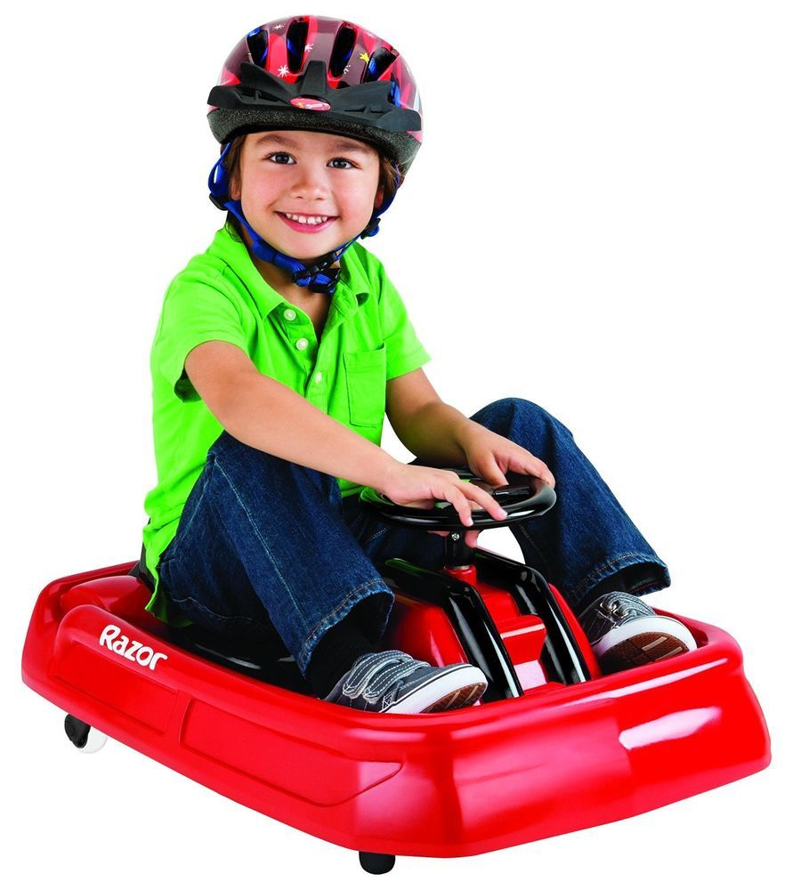 Battery Powered Ride Toys Toddler Kids Sport Drift Car Ride Toy