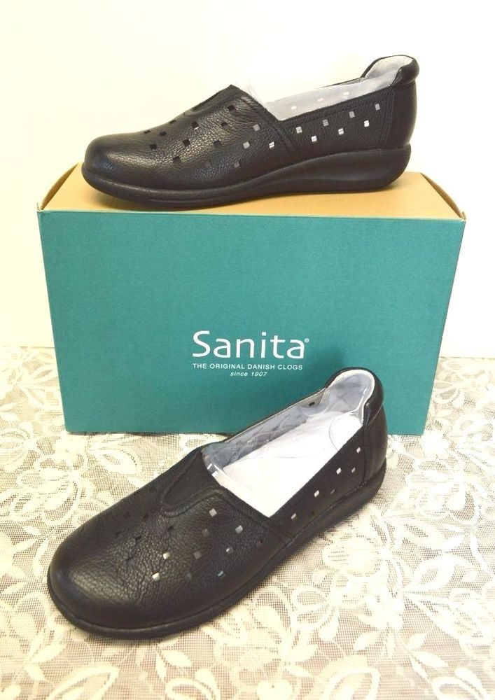 41e88a29994e Sanita France Leather Wedge Loafer 6.5-7 37 Summer Comfy Casual Party Fun  Cute  Sanita  LoafersMoccasins  WeartoWorkDressyCasual