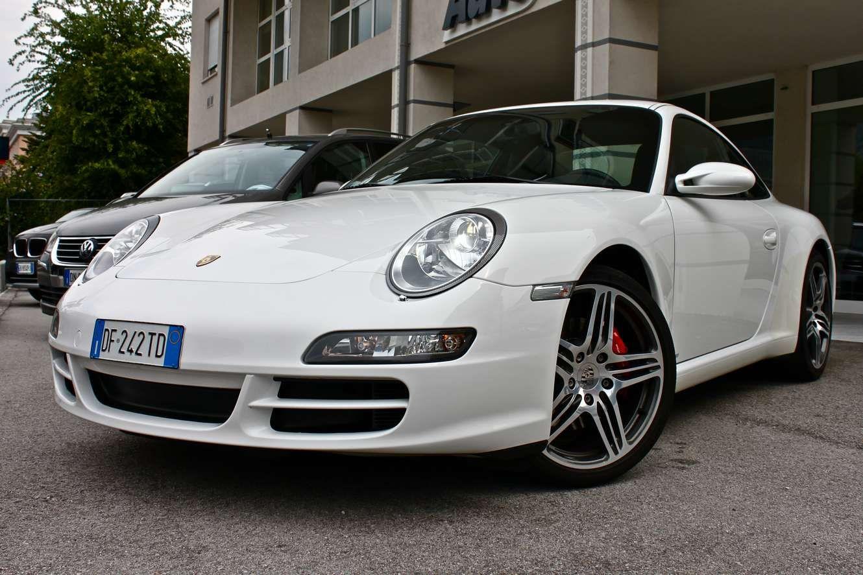Amazing Porsche 997 4S   White With 997 Turbo Wheels