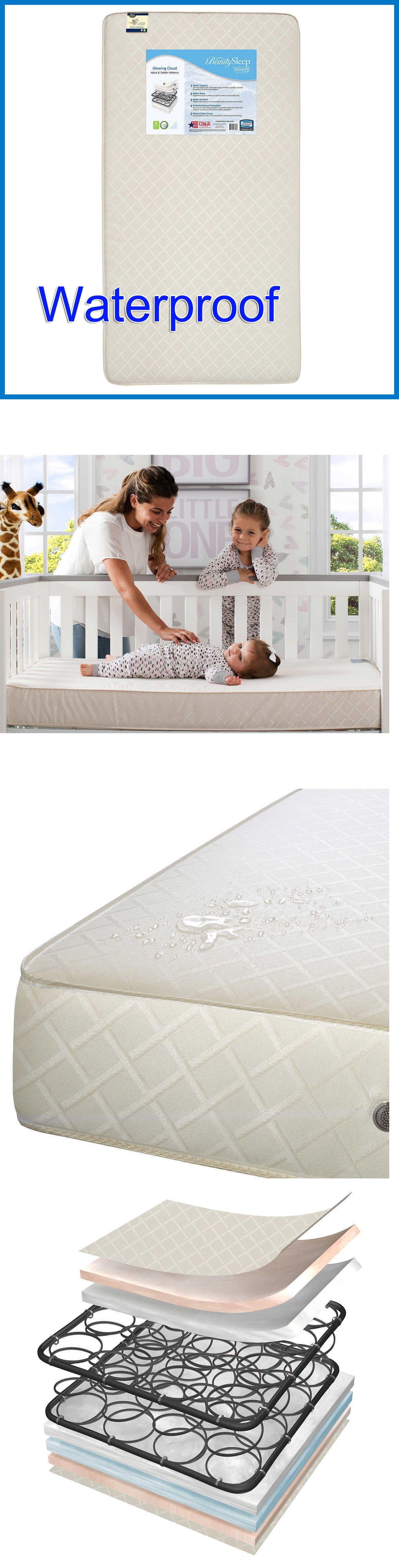 simmons beautysleep from beautyrest glowing cloud crib & toddler