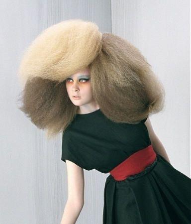Poofy hair | Cool hairstyles, Crazy hair, Hair styles