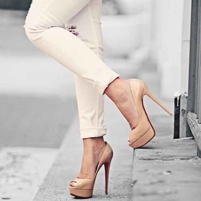 outlet store 433a4 e2525 ALL ABOUT TRAVEL | All Things Shoes | Peep toe pumps ...