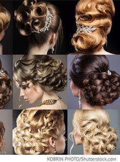 Brautfrisuren Fur Brunette Und Blondinen Fur Russische Hochzeiten