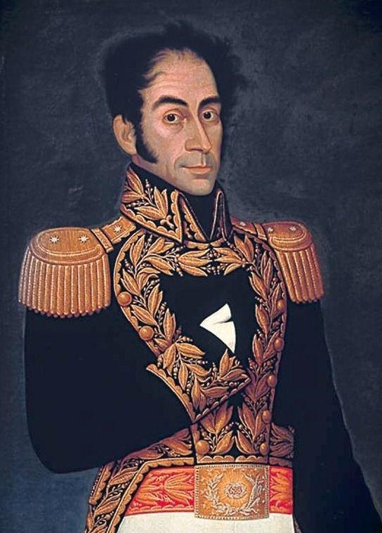 Simon Bolivar 1825 Jose Gil De Castro Venezuela La