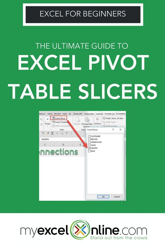 The Ultimate Guide to Excel Pivot Table Slicers Excel Spreadsheet