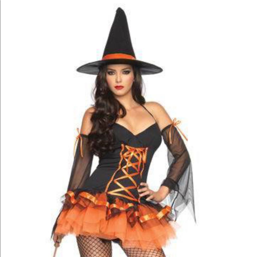 Womens Witch Costume  sc 1 st  Pinterest & Womens Witch Costume | Products | Pinterest | Witch costumes and ...
