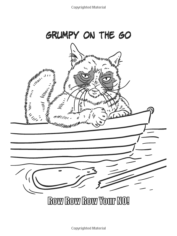 Dover Publications On Amazon Grumpy Cat Coloring Book And David Cutting