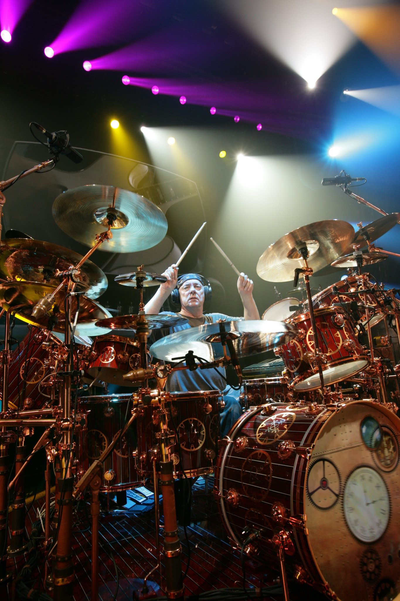 Rush S Neil Peart Takes A Ride In His Ohio Time Machine Exclusive