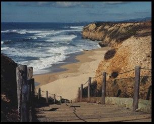 Cowell Ranch State Beach 3 Mi S Of Half Moon Bay 2 Secluded Pocket Beaches Seal Is Closed To The Public San Mateo Coast