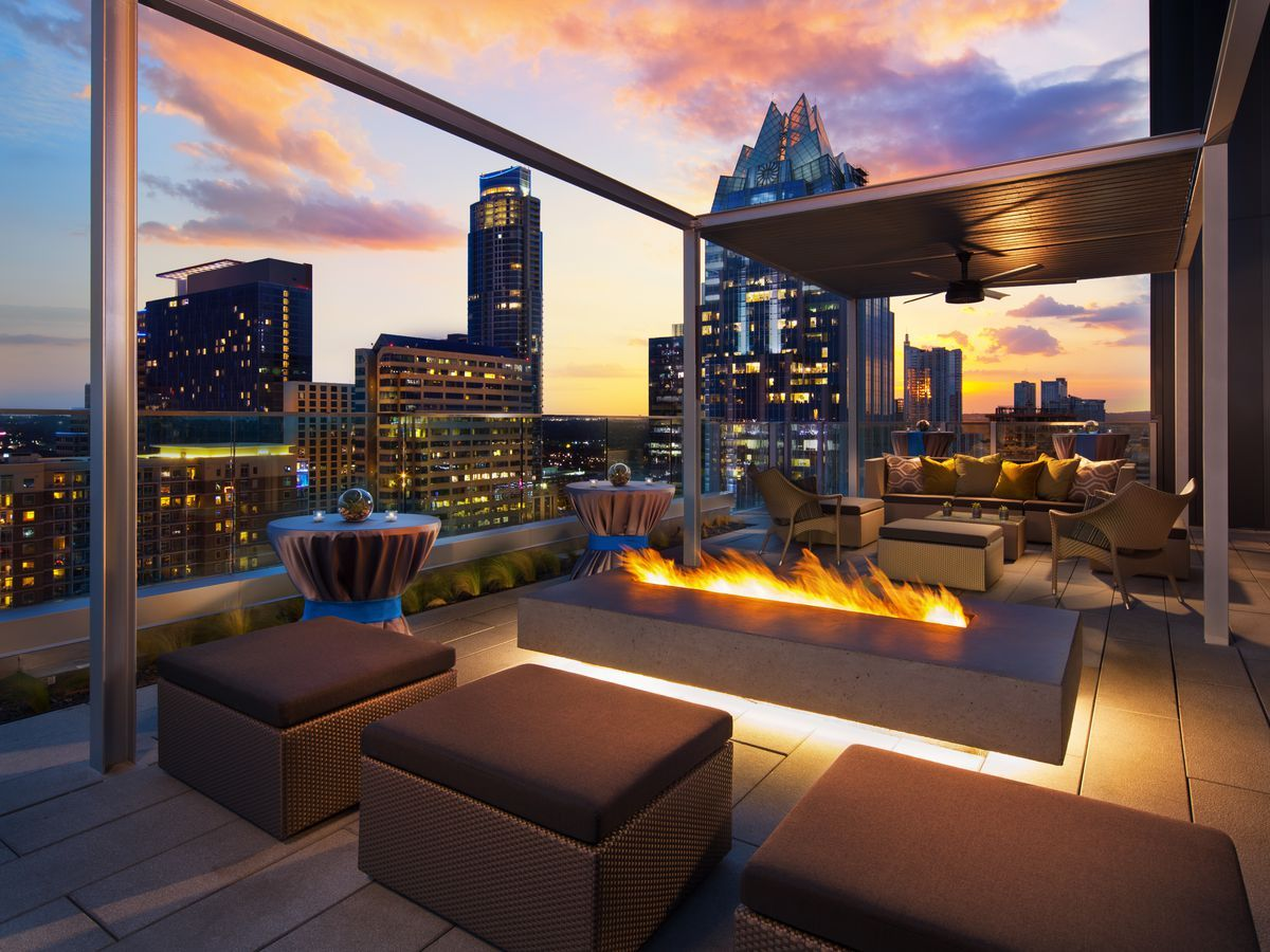 Where to Drink and Eat on a Roof in Austin Austin hotels