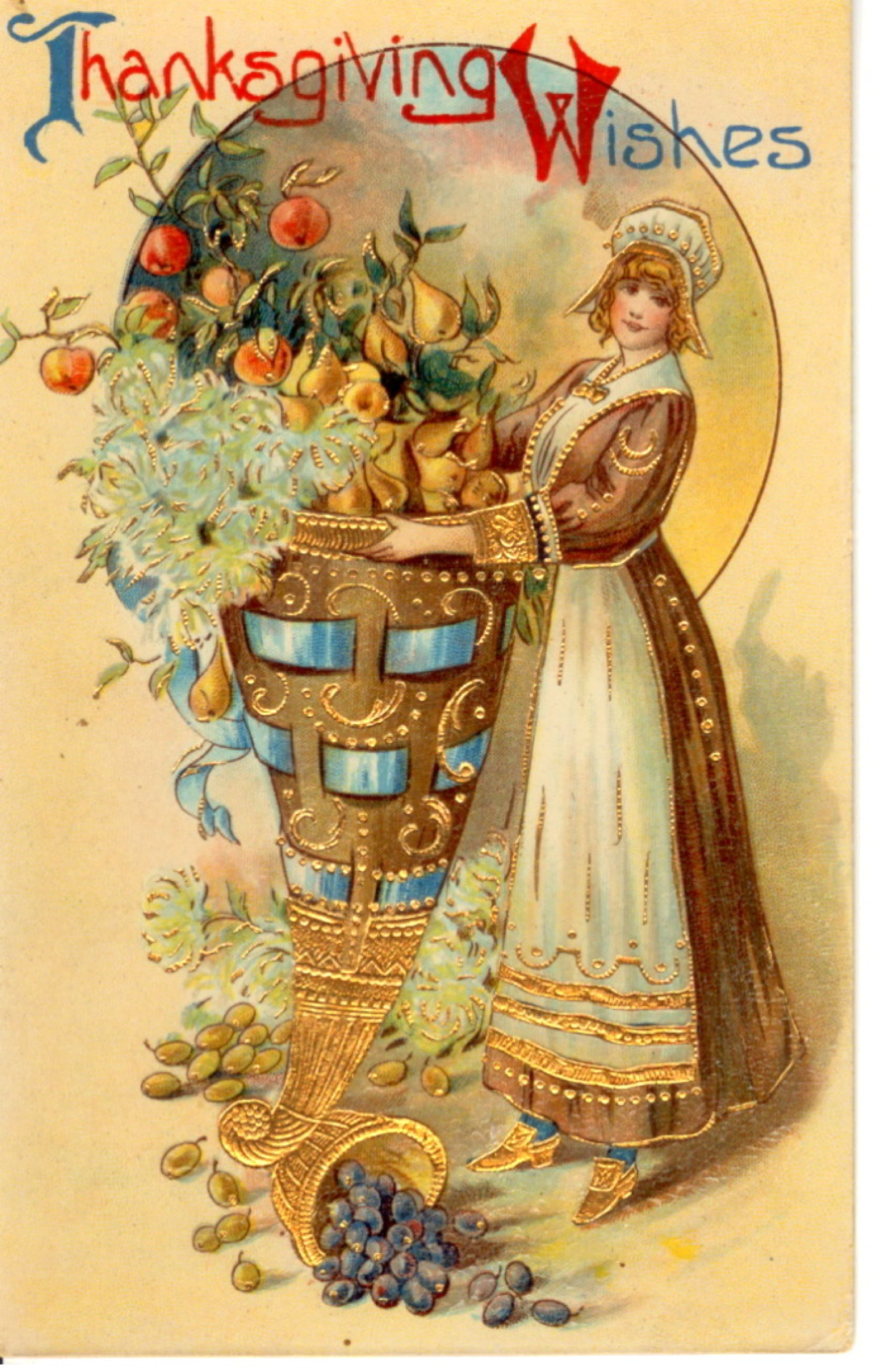 stock-graphics-vintage-thanksgiving-postcard-0511 ... | Holidays ...