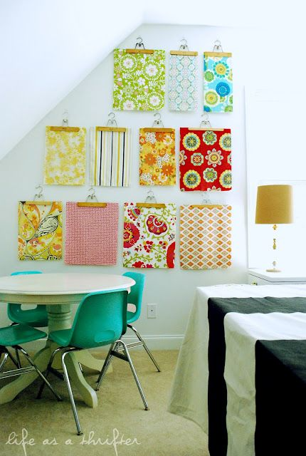 Life as a Thrifter: Home Tour: The Playroom/Craft Room