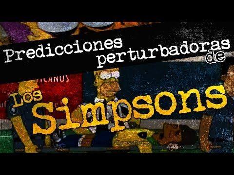 Predicciones perturbadoras de Los Simpsons
