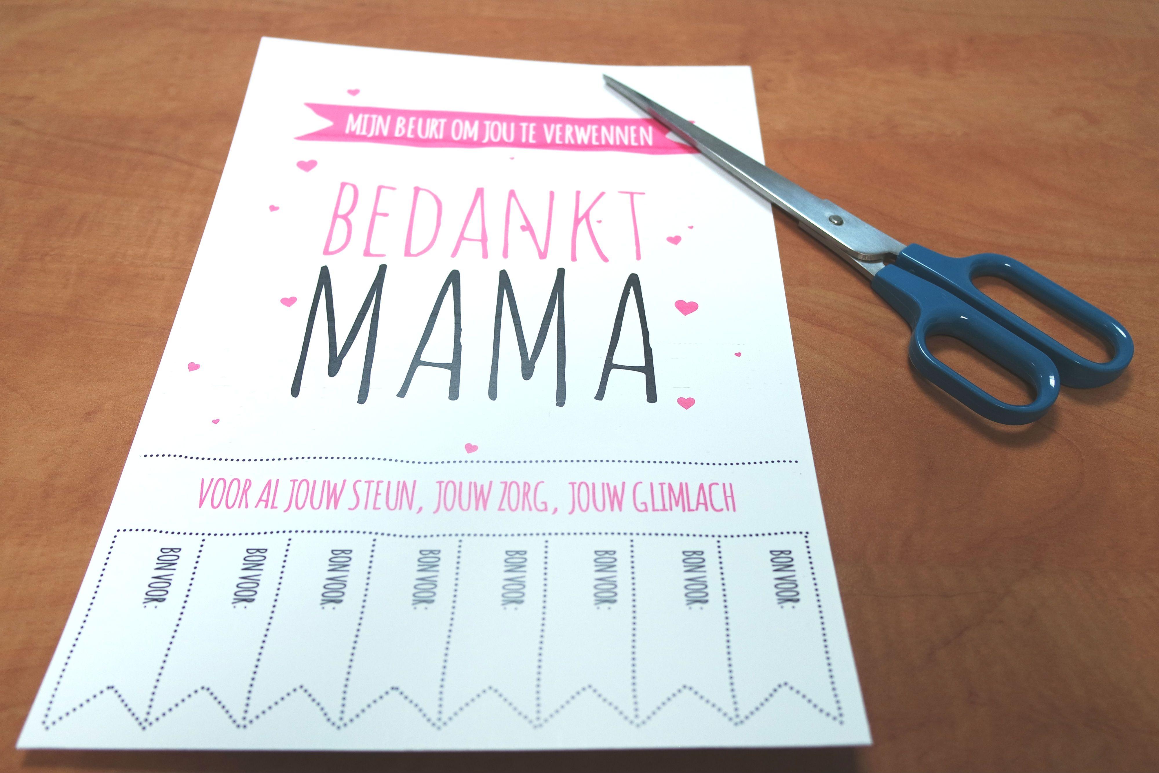 Verbazingwekkend DIY Moederdag cadeau - Het perfecte geschenk   Diy moederdag QE-25