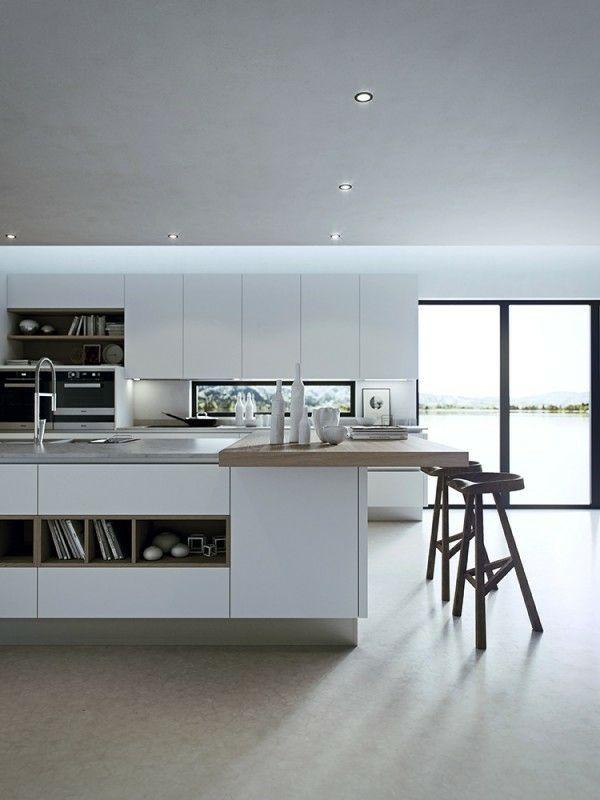La décoration cuisine moderne avec un design masculin   Kitchens ...