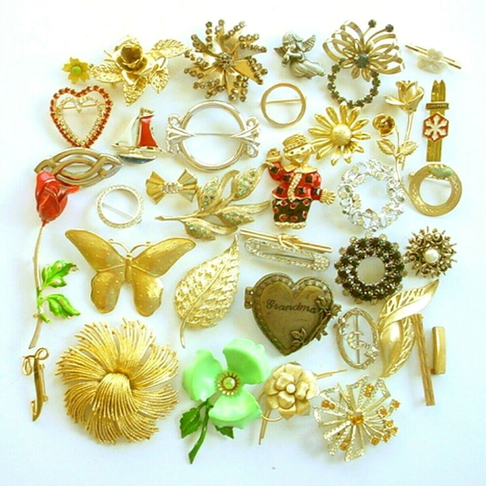 Lot pin/'s vintage Set of brooches Pin