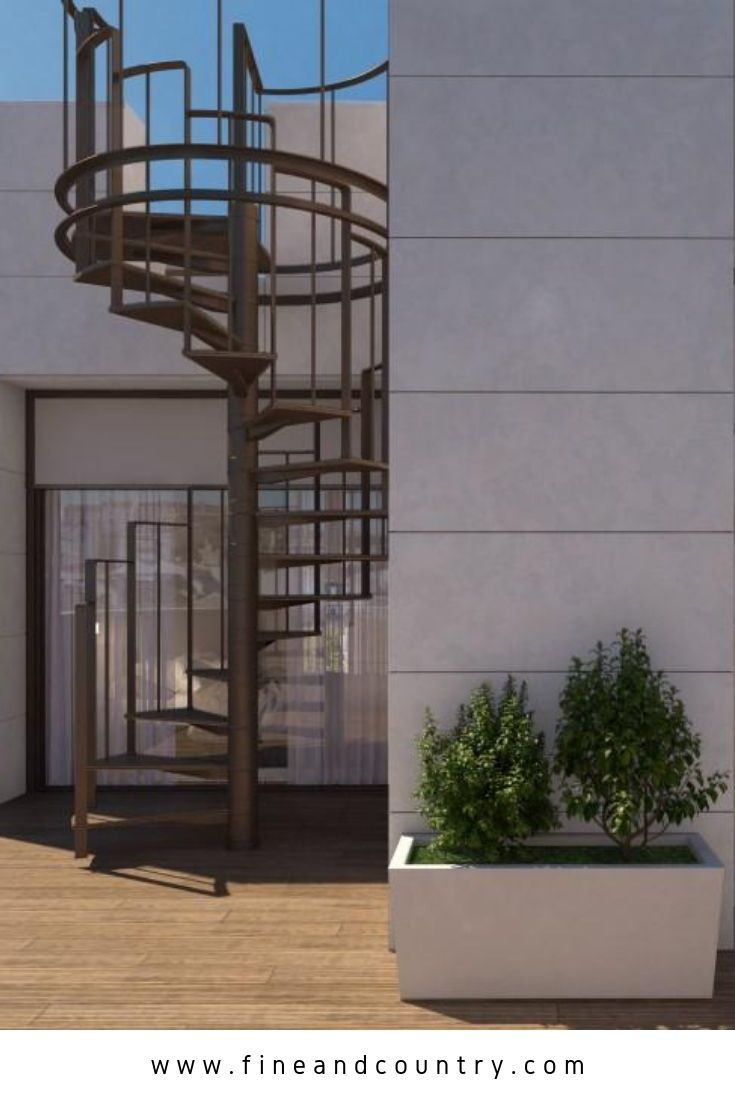 Best Impressive Spiral Staircase Industrial Style Outdoor 400 x 300