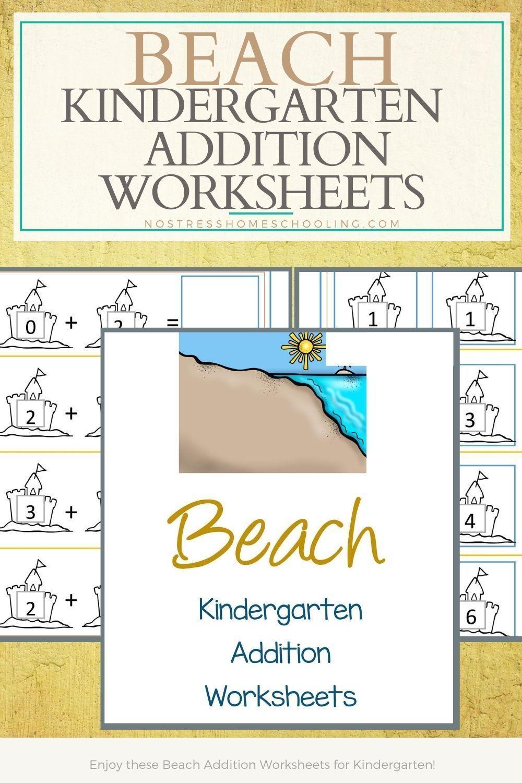 Beach Addition Worksheets For Kindergarten Kindergarten Addition Worksheets Free Printable Math Worksheets Kindergarten Worksheets [ 1500 x 1000 Pixel ]
