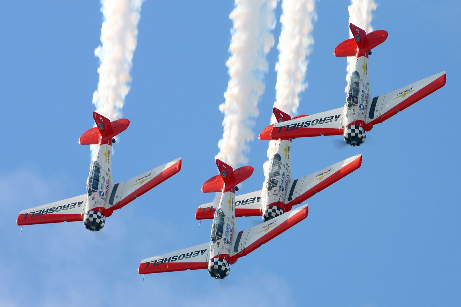 Aeroshell T6 Aerobatic team Air show, Tuskegee airmen