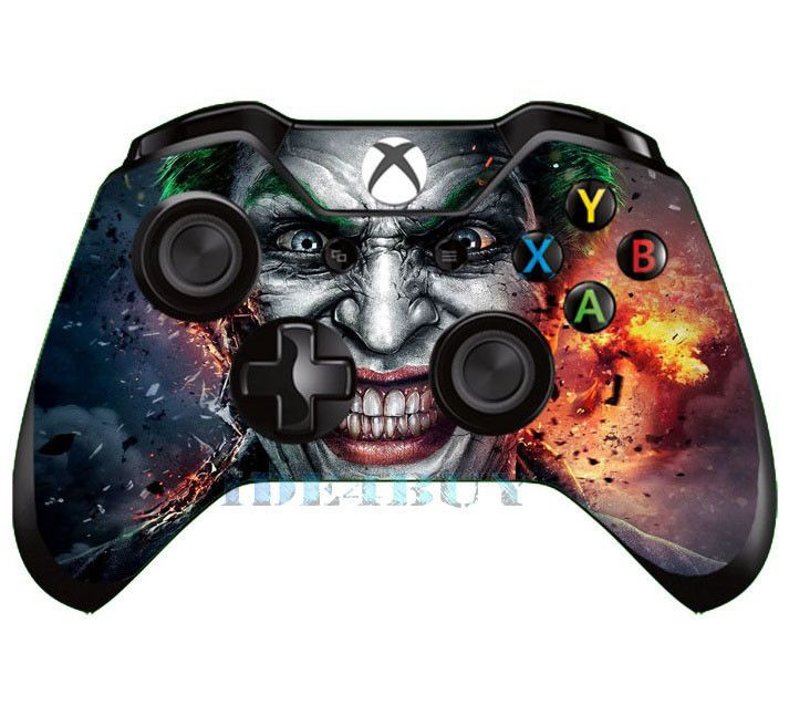 Popular Horrible Joker Skin For Xbox One X Box One Controller Sticker Cover 1pc Unbrandedgeneric Xbox One Controller Xbox One Xbox Controller