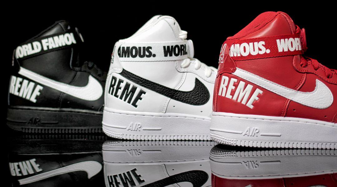Supreme x Nike Air Force 1 - Order