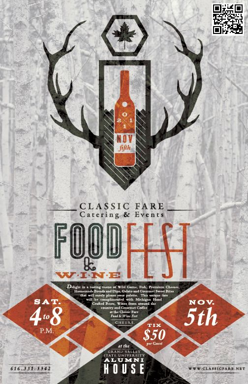 cf catering event promotion design layout poster layout ideas pinterest creative