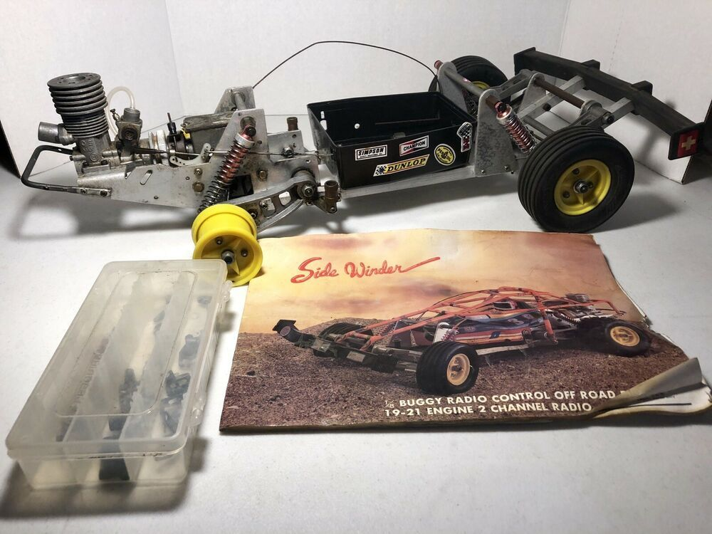 Details about Vintage Pacific Side Winder 1:8 Scale RC Off Road