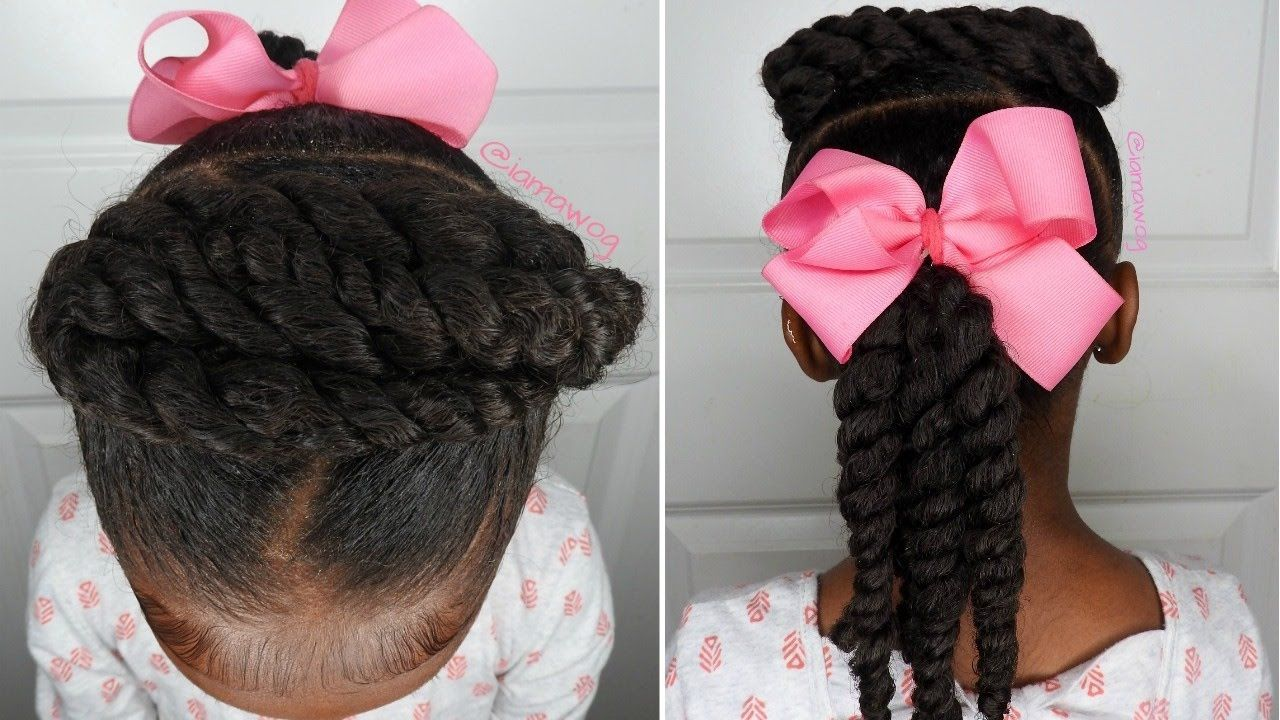 Quick u easy minute hairstyle kids natural hairstyle iamawog