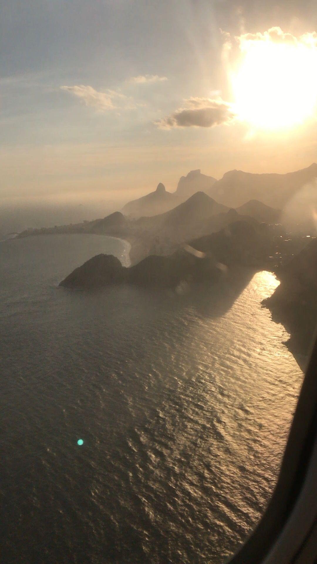 Por do Sol Rio De Janeiro Decolagem