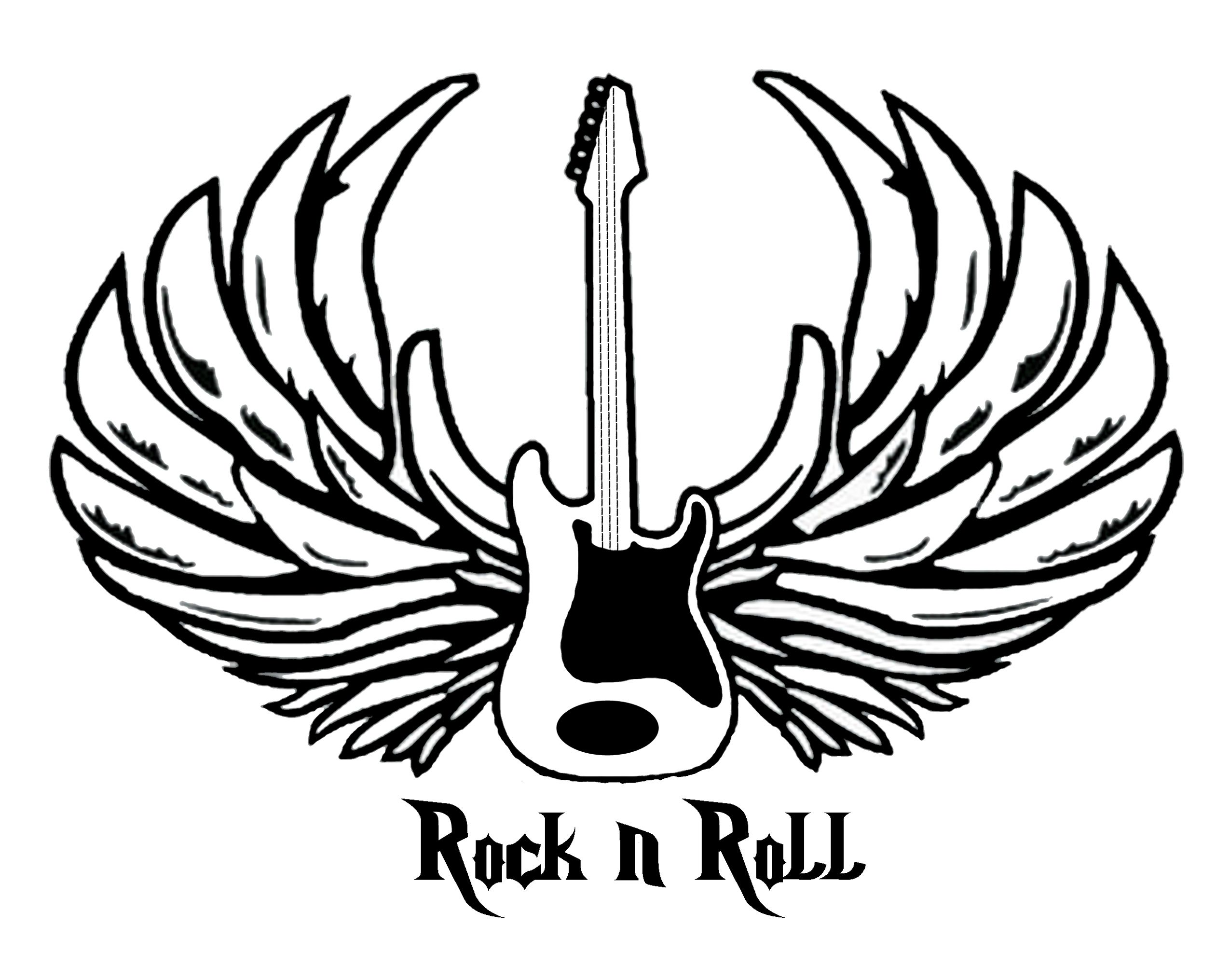 Rock n roll coloring pages - Rock N Roll