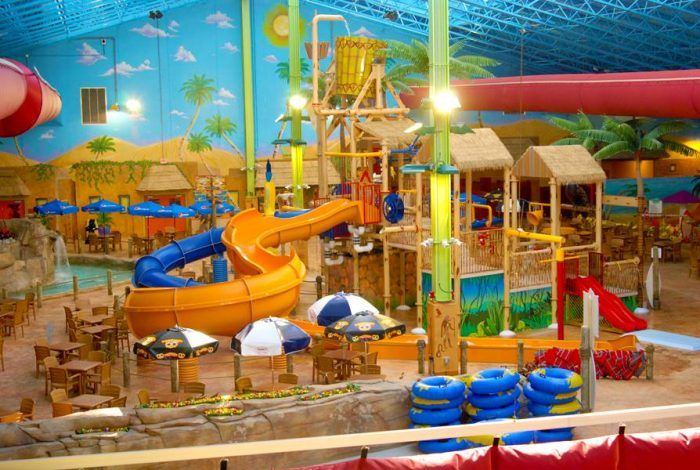 Drop Everything And Visit This One Epic Indoor Waterpark In New Jersey Indoor Waterpark Water Park Florida Water Parks