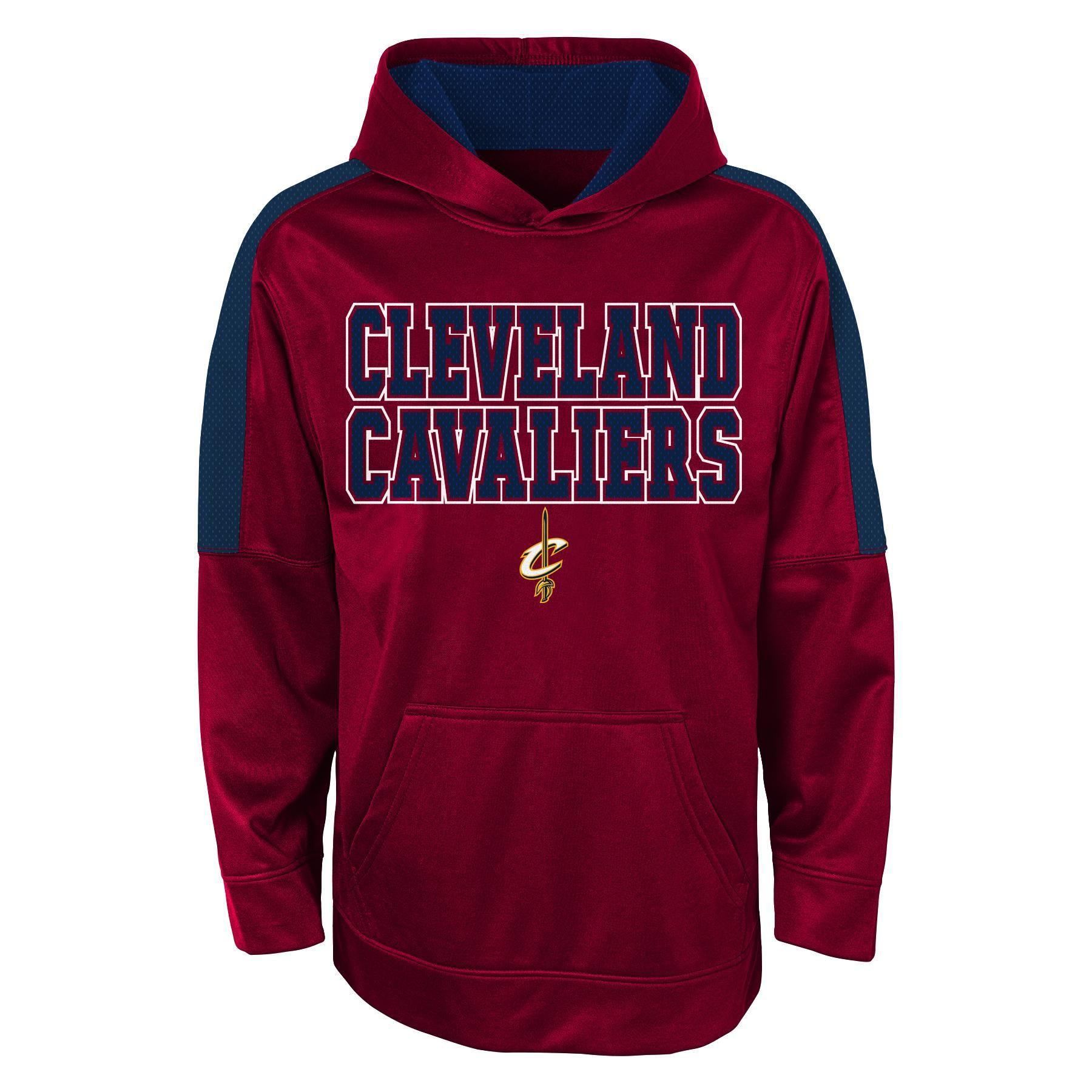 Nba Boys Hoodie Cleveland Cavaliers Size Medium Red Pullover Sweatshirt Hoodie Hoodies Sweatshirts Hoodie