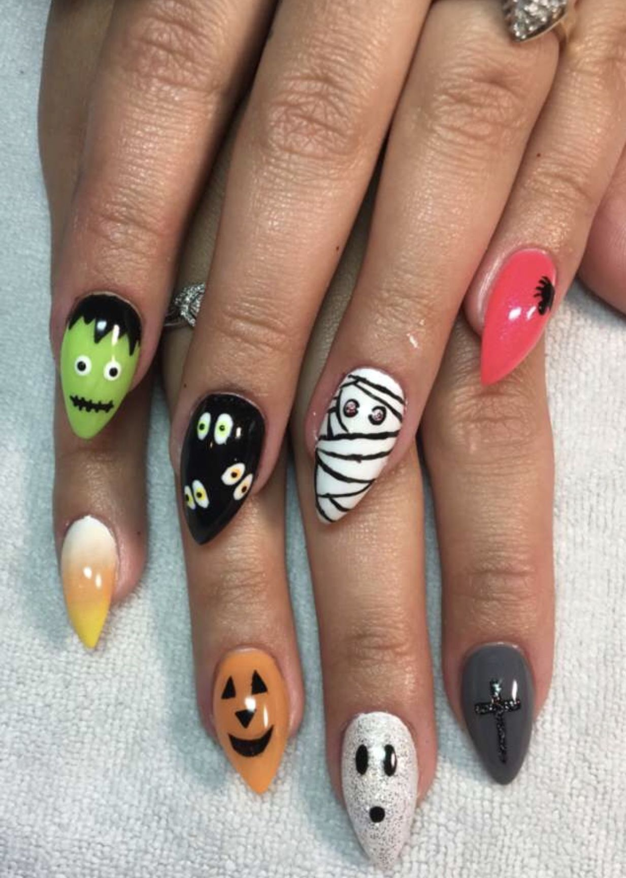 My Halloween set for 2018 | Nails, Halloween nails ...