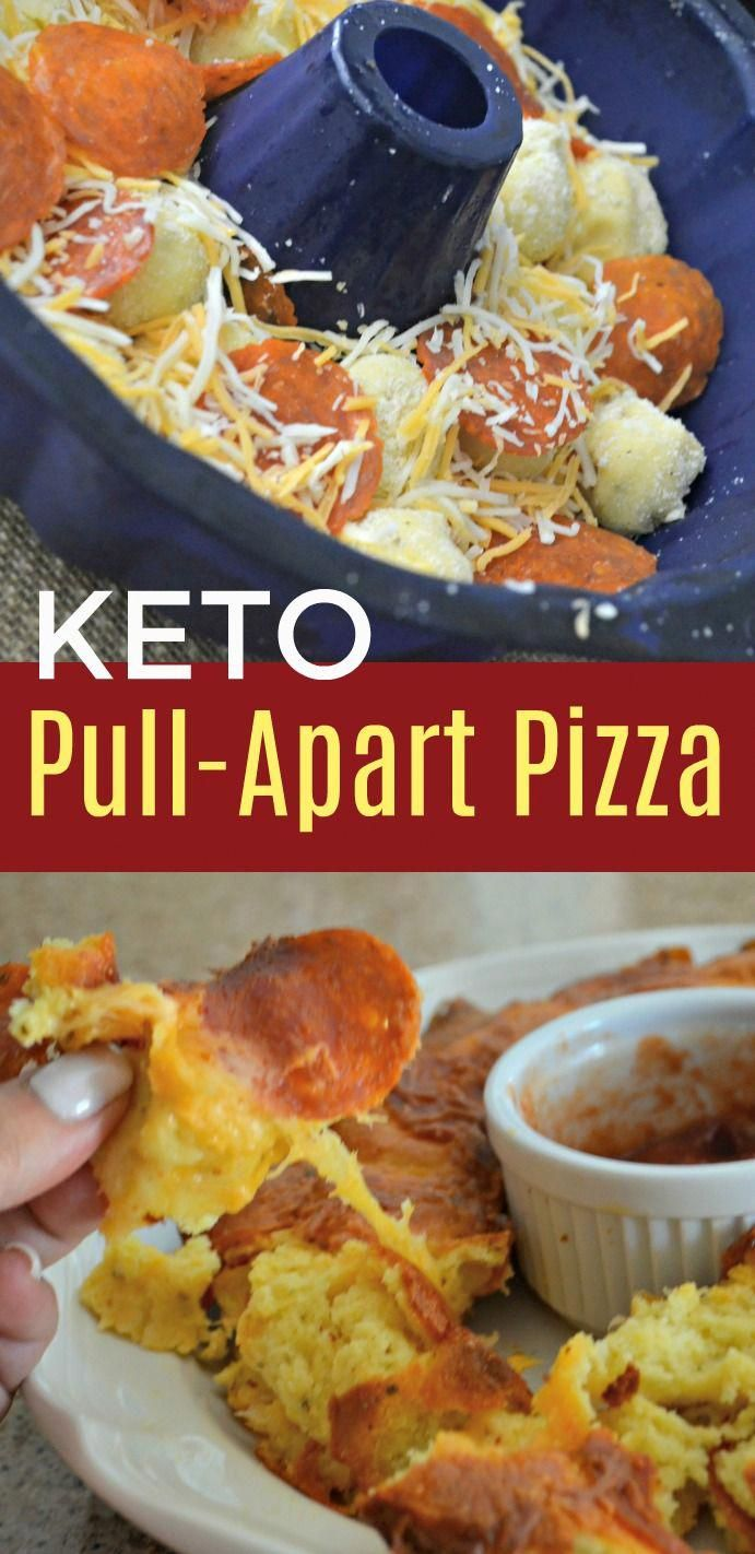 Try These Simple and Delicious Pull-Apart Keto Pizza Rolls