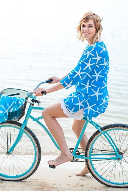 3a2431836e3 Starfish Cotton Beach Tunic Cover up KV295 | Island Wear | Beach ...