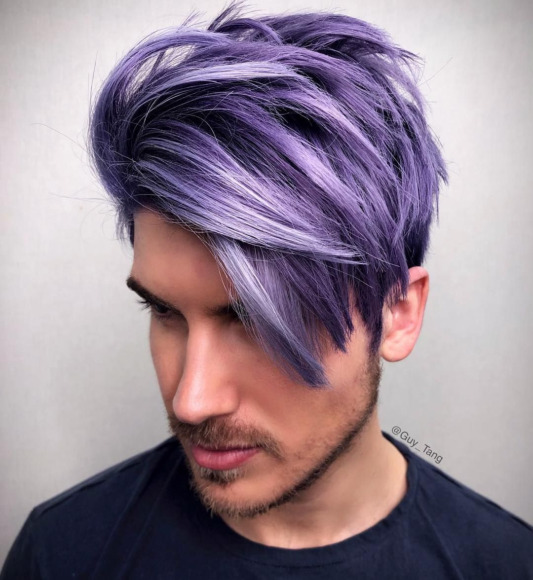 13 7k Likes 219 Comments Guy Tang Guy Tang On Instagram Boys Like To Have Fun Too Who Likes To Hav Men Hair Color Dyed Hair Men Hair And Beard Styles