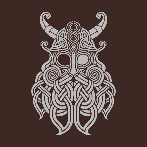 Odin T-Shirt-Brown