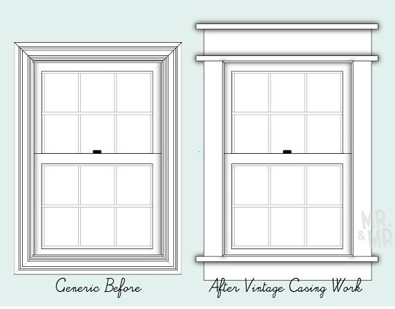 Craftsman Exterior Window Trim trying to decide on the right trim out for this 1940's house