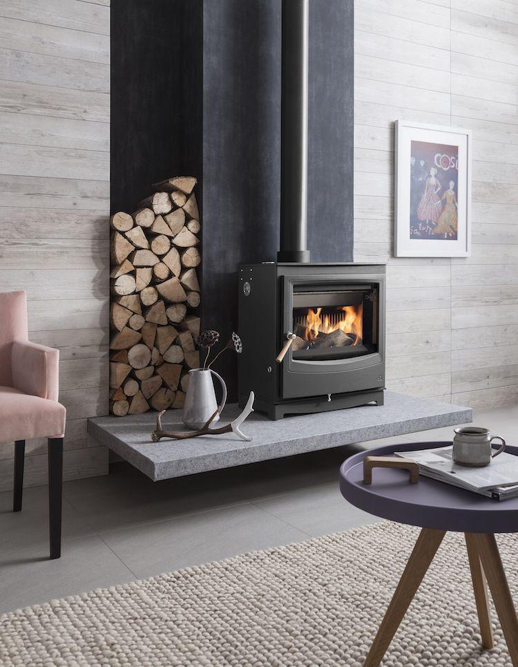 My Scandinavian Home Feeling The Hygge A Toasty Guide To Wood Burning Stoves Wood Burning Stoves Living Room Freestanding Fireplace Wood Stove Hearth