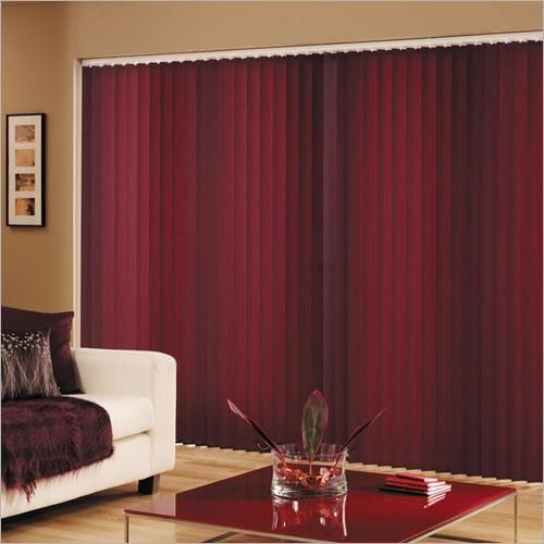 Fabric Vertical Blind Do It Yourself Sliding Glass