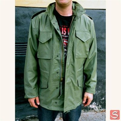 Alpha industries m65 jacka olivgron