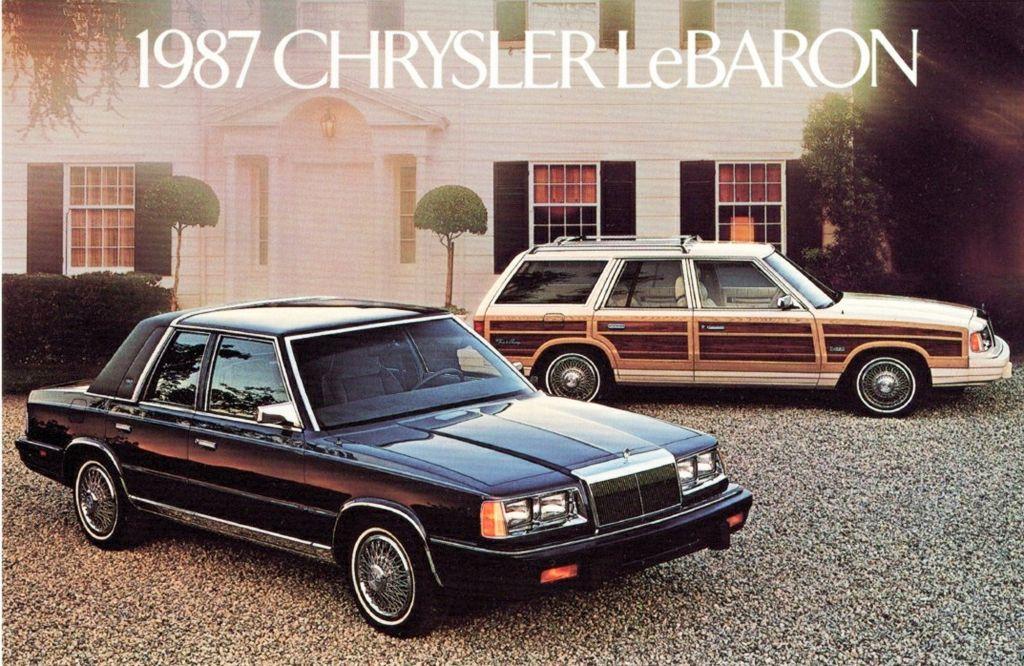 1987 Chrysler Lebaron Town Country Wagon Ad Chrysler Lebaron