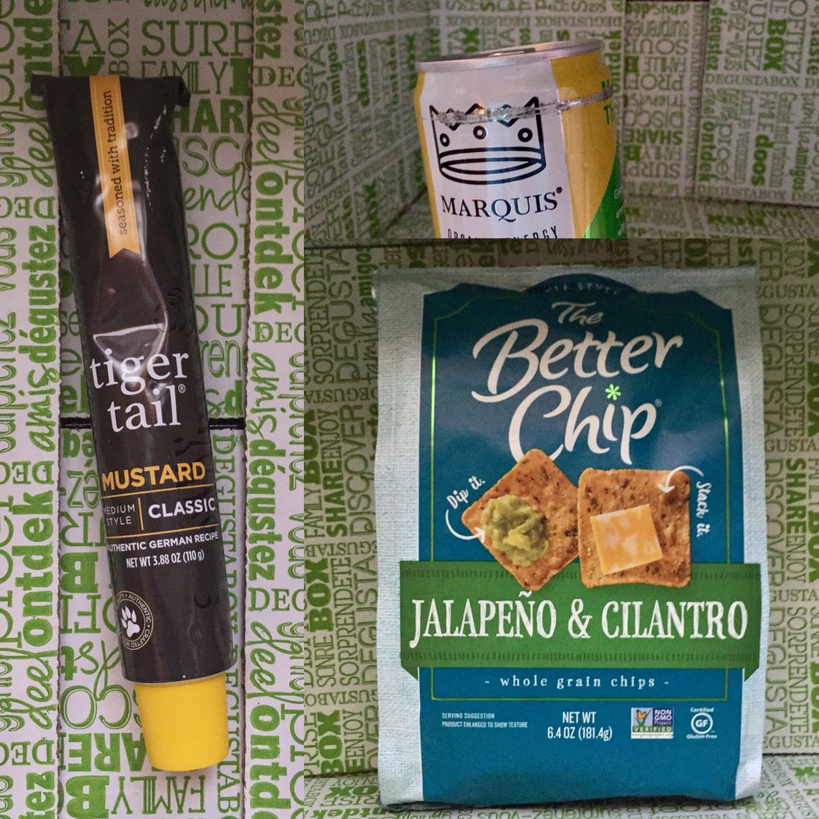 Review degustabox september   food subscription boxes