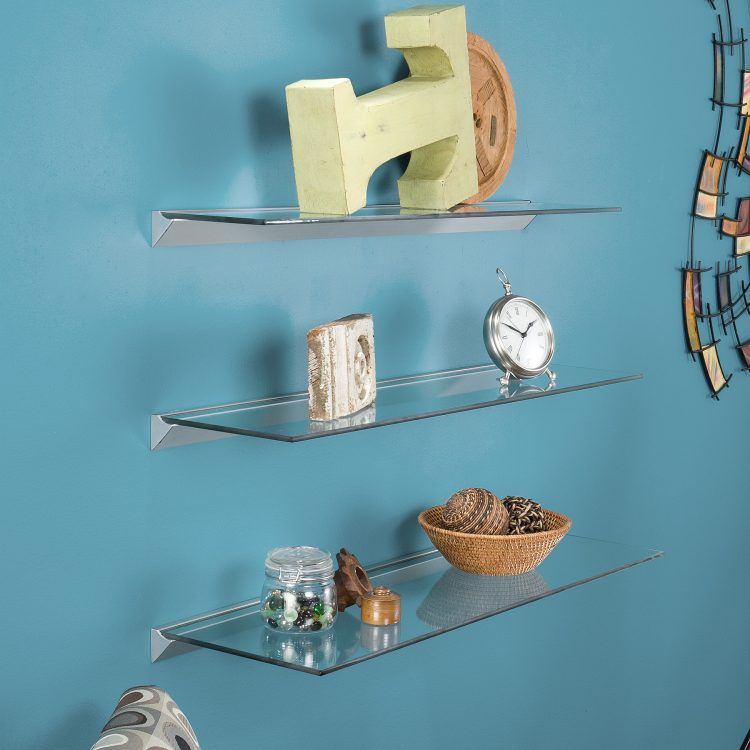 Glass Floating Shelves 100 Floating Shelves Perfect For Storing Your Belongings  Shelving