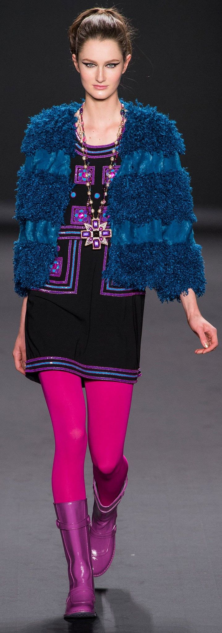 Anna Sui  FALL 2013 READY-TO-WEAR