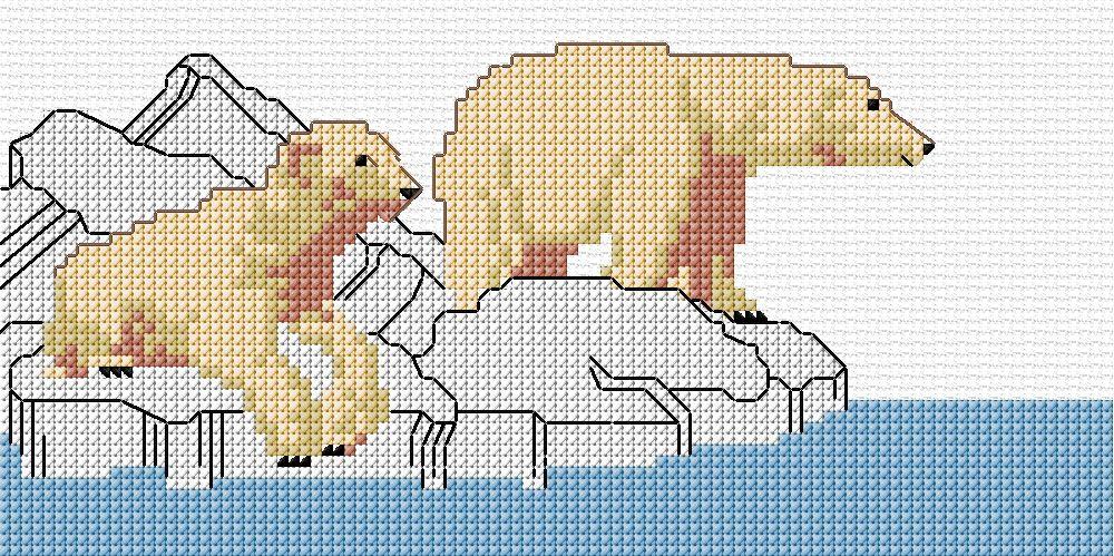 схема картинки белого медведя анонсы легендарных опен
